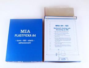 MIA-fickan A4 - U3. Namnskyddat eget varumärke.